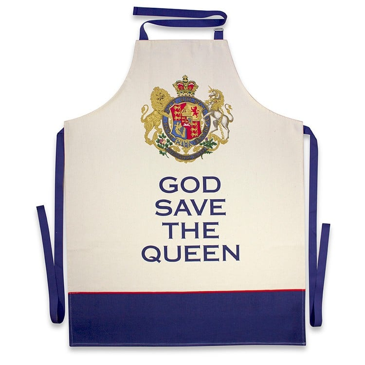 God Save The Queen Apron ($25)