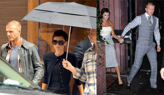 Photos of Victoria Beckham and David Beckham Shopping on 5th Ave and at Waverly Inn