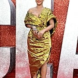 Rihanna's Gold Dress at Ocean's 8 Premiere in London