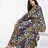 ASOS Design Curve Wrap Maxi Dress