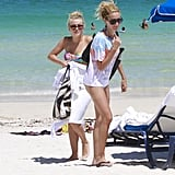 Ashley Tisdale and Julianne Hough Log Another Bikini Beach Day in Miami