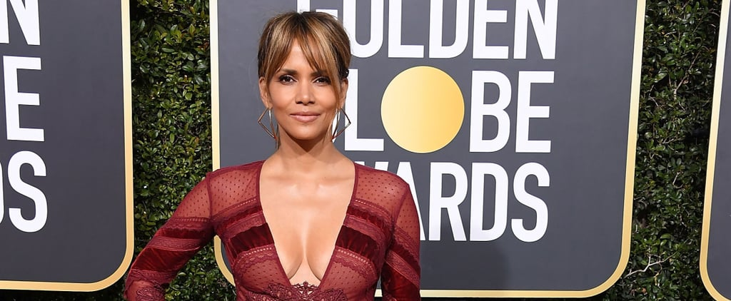 Halle Berry Full-Body Medicine Ball Workout