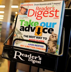 Reader's Digest Files For Chapter 11 Bankruptcy Protection