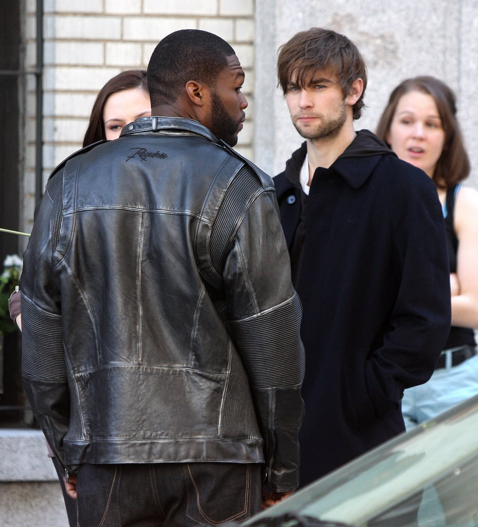 29/4/2009 Chace Crawford and 50 Cent