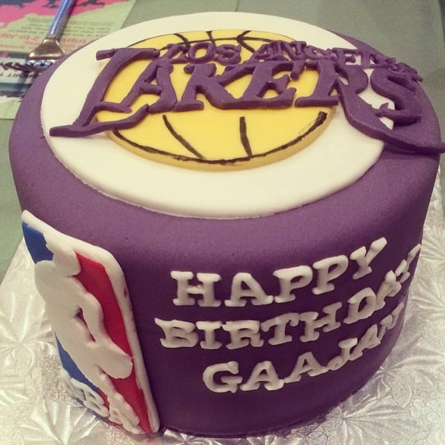 Lakers Love Sports Themed Birthday Cakes Popsugar Family Photo 15