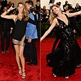 Gisele Bündchen at the 2013 and 2014 Met Galas