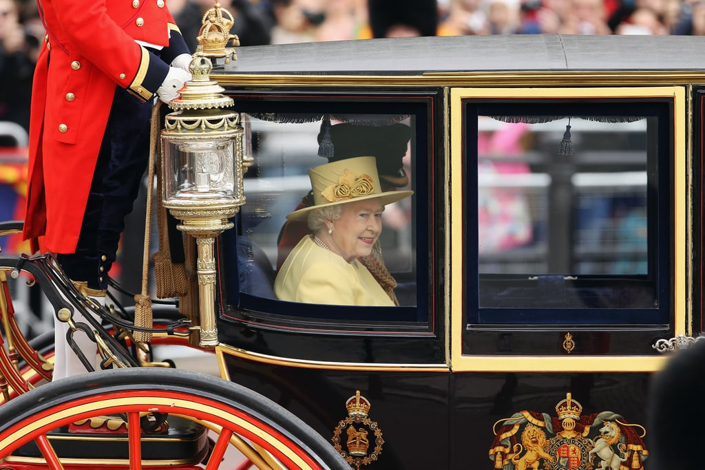 Kate Joins Will, Harry, and the Royal Family For the Trooping of the Colour
