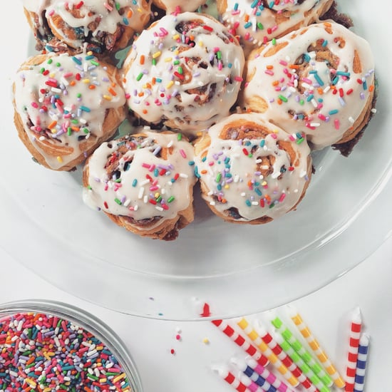 Funfetti Cake Batter Cinnamon Rolls