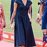 Meghan Markle Denim Carolina Herrera Dress