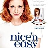 Christina Hendricks For Clairol Nice 'n Easy