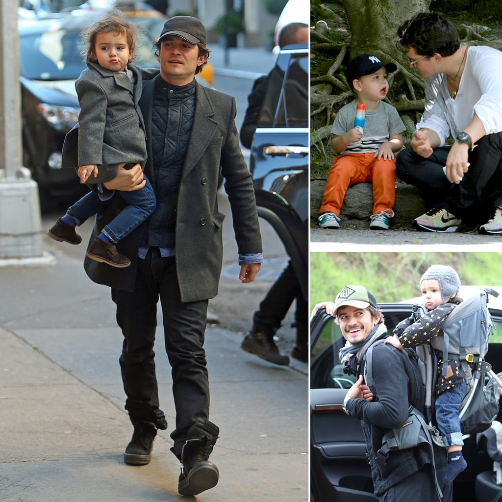 Orlando Bloom and Flynn Cute Pictures