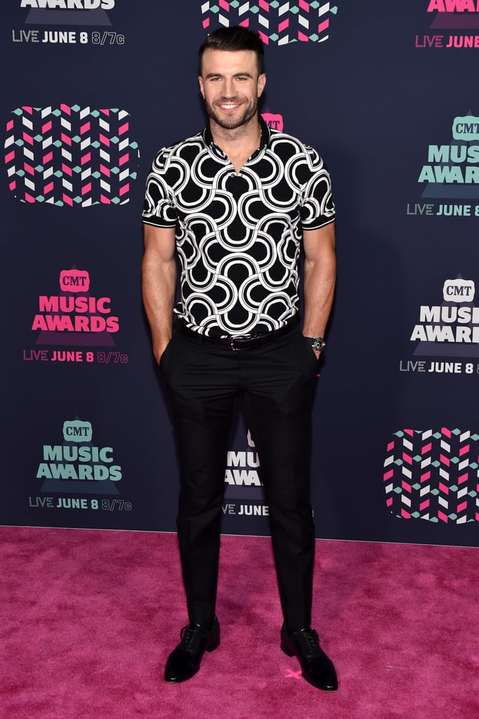 "Sam Hunt was all about the fans when he arrived at the CMT Music Awards in Nashville on Wednesday night. The country heartthrob — who kept things cool in a black and white button-up shirt — stopped to greet and take selfies with a few lucky fans before making his way onto the red carpet. Inside, Sam linked up with pal Tim McGraw, who took home the coveted video of the year award.   Just last month, Sam heated up the Stagecoach music festival with his rugged good looks, which were thought to have caught actress Kaley Cuoco's eye in February, but according to the singer, he's not dating anyone. ""I am [single],"" he told CMT on the red carpet after they mentioned his new song, ""Single For the Summer."" ""It's the beginning of the summer . . . I am."" Despite his free-agent status, Sam also mentioned, ""I'm not at the same place I was when I wrote this song a few years ago"" and that he's ""hoping there's a possibility"" he finds someone special by the Fall. Keep reading for more of his night, then check out 29 sexy Sam photos that will make you a country music fan."