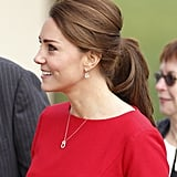 Kate Middleton's Très Chic Ponytail, 2014