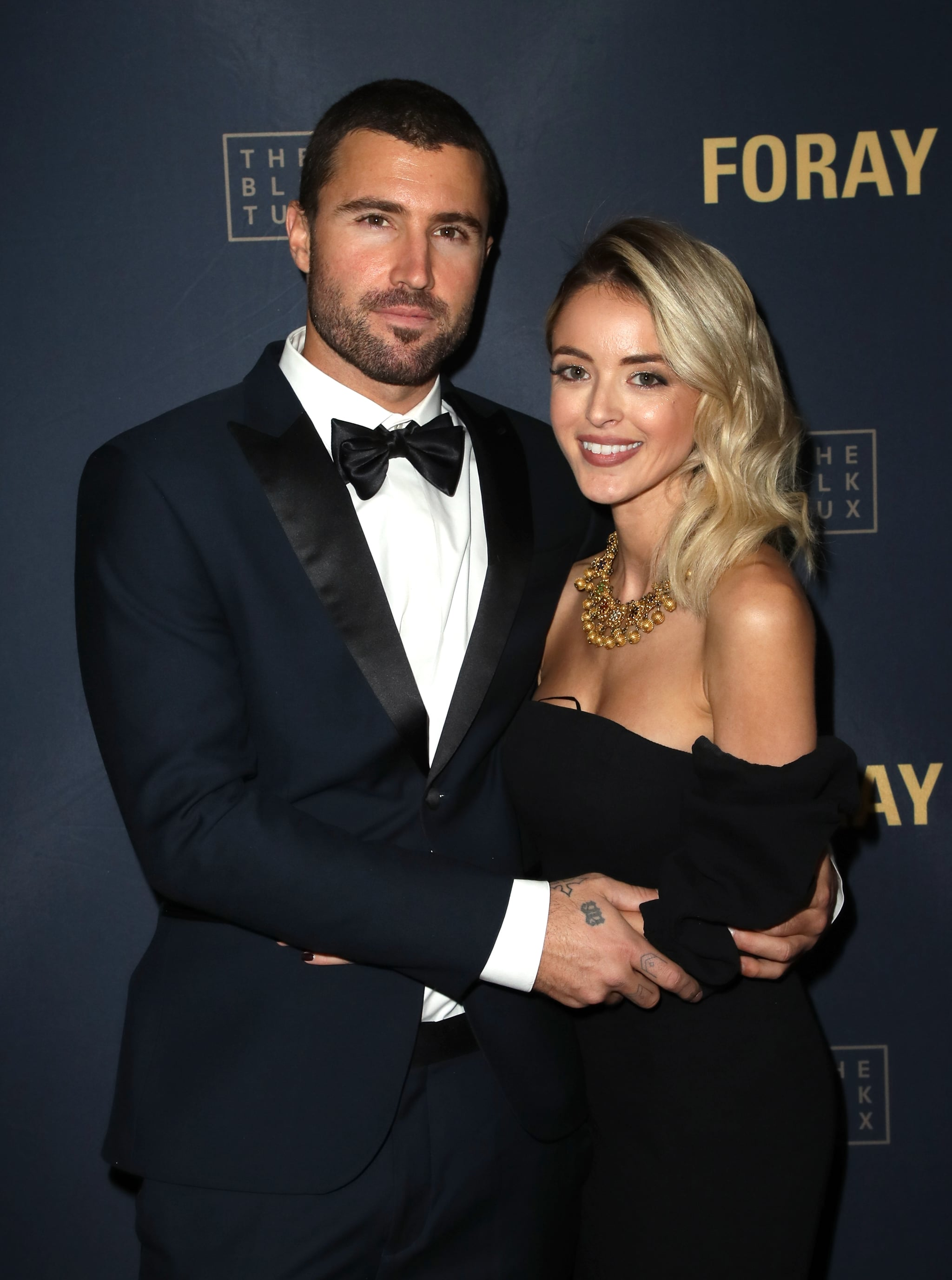 LOS ANGELES, CA - DECEMBER 12:  Television personality Brody Jenner (L) and Kaitlynn Carter attend FORAY Collective and The Black Tux Host Holiday Gala on December 12, 2017 in Los Angeles, California.  (Photo by David Livingston/Getty Images)