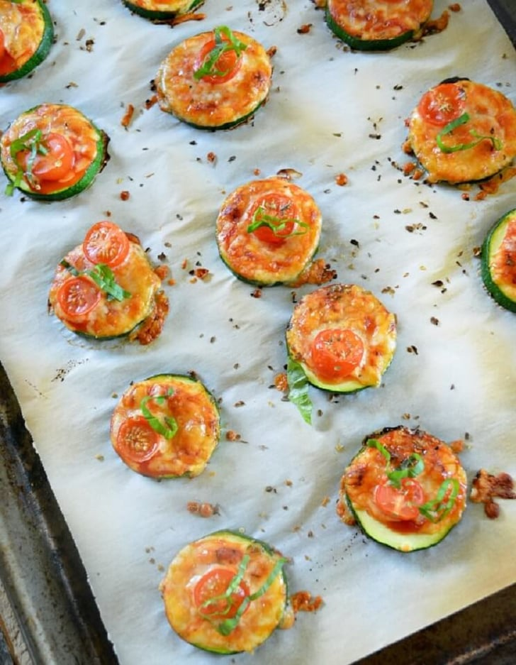 Zucchini Pizza Bites Recipe | POPSUGAR Fitness