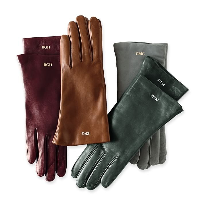 Once things get quite chilly this Winter, anyone who receives these monogrammed Mark and Graham gloves ($120) will be thanking you repeatedly as their hands stay nice and toasty.