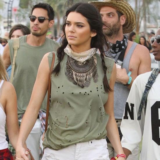 Celebrity Music Festival Style Inspiration