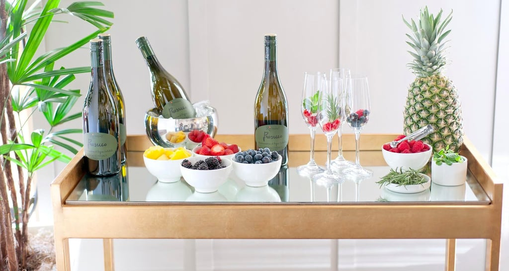 Here's How to Set Up a Prosecco Bar Like a Pro