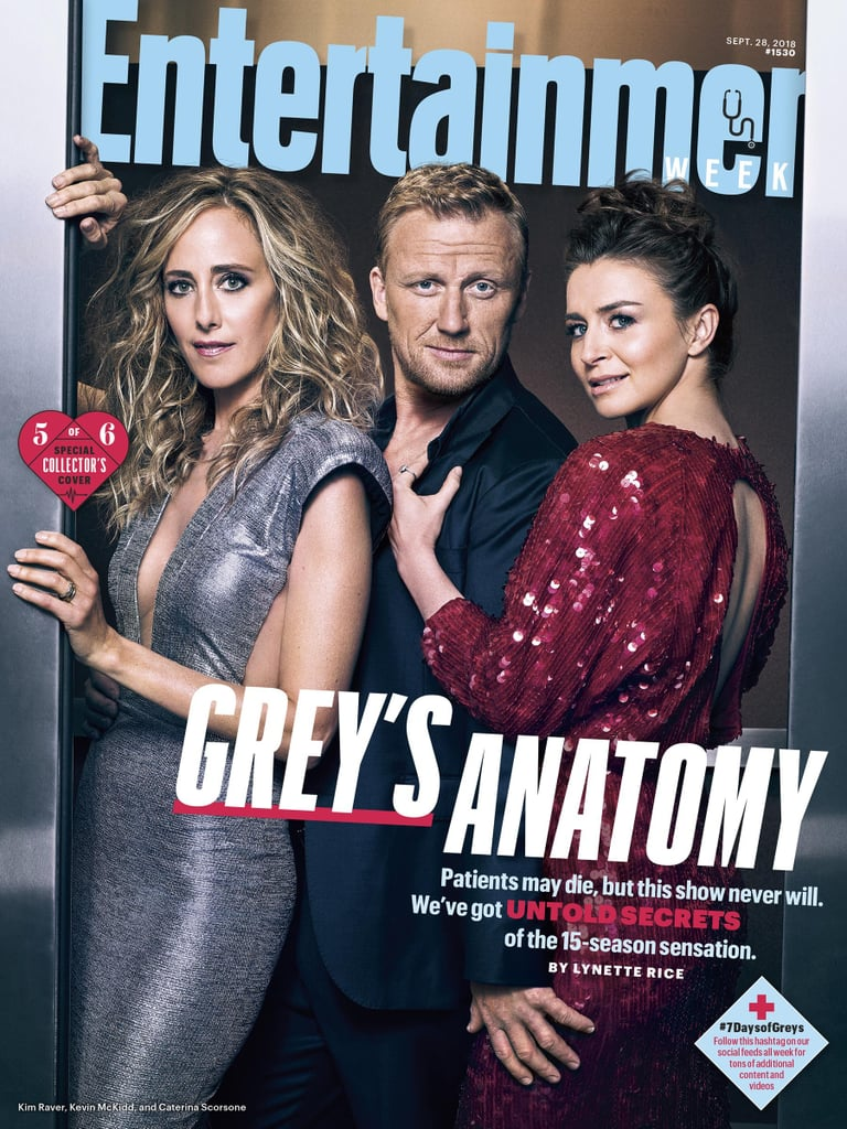 Entertainment Weekly Covers For Grey's Anatomy Season 15