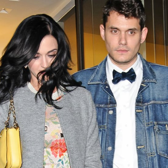 Katy Perry And John Mayer At Dinner On His Birthday In NYC