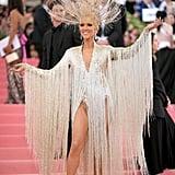 Celine Dion Oscar de la Renta Dress at the 2019 Met Gala