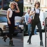 If there was ever an outfit that screamed Taylor Swift, it would be a black pair of overalls and a white crop top — because that's exactly what happened when I stepped out wearing them. A random guy on the street jokingly yelled her name at me, which made me blush — and also beam with pride. It's a safe bet I'll be rewearing this one sometime in the near future.
