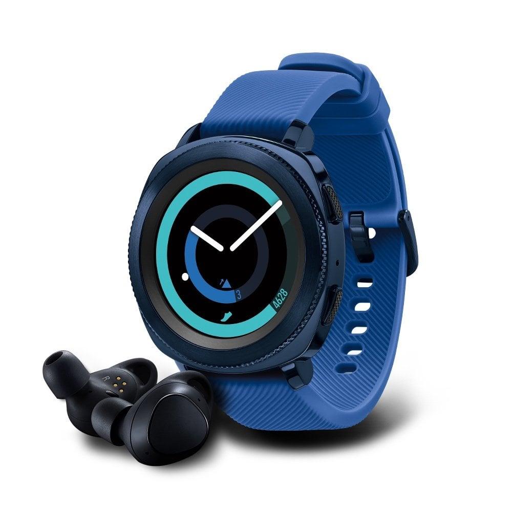 Samsung Gear Sport Smartwatch With Gear IconX Fitness Earbuds