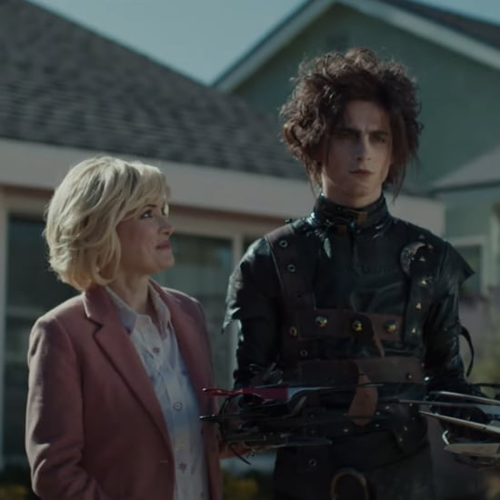 Watch Timothée Chalamet's Edward Scissorhands Super Bowl Ad