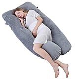 Meiz U-Shaped Pregnancy Body Pillow