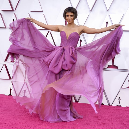 Halle Berry Debuted a Short Bob Haircut at the Oscars 2021
