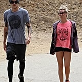 As far as we're concerned, the couple that works out together, stays together! Ashley Tisdale recently took to Runyon Canyon with fiancé Christopher French for an afternoon hike.