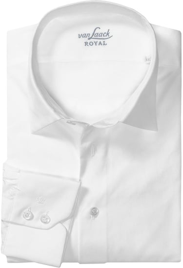 Van Laack Cotton Spread Collar Shirt - Long Sleeve (For Men)