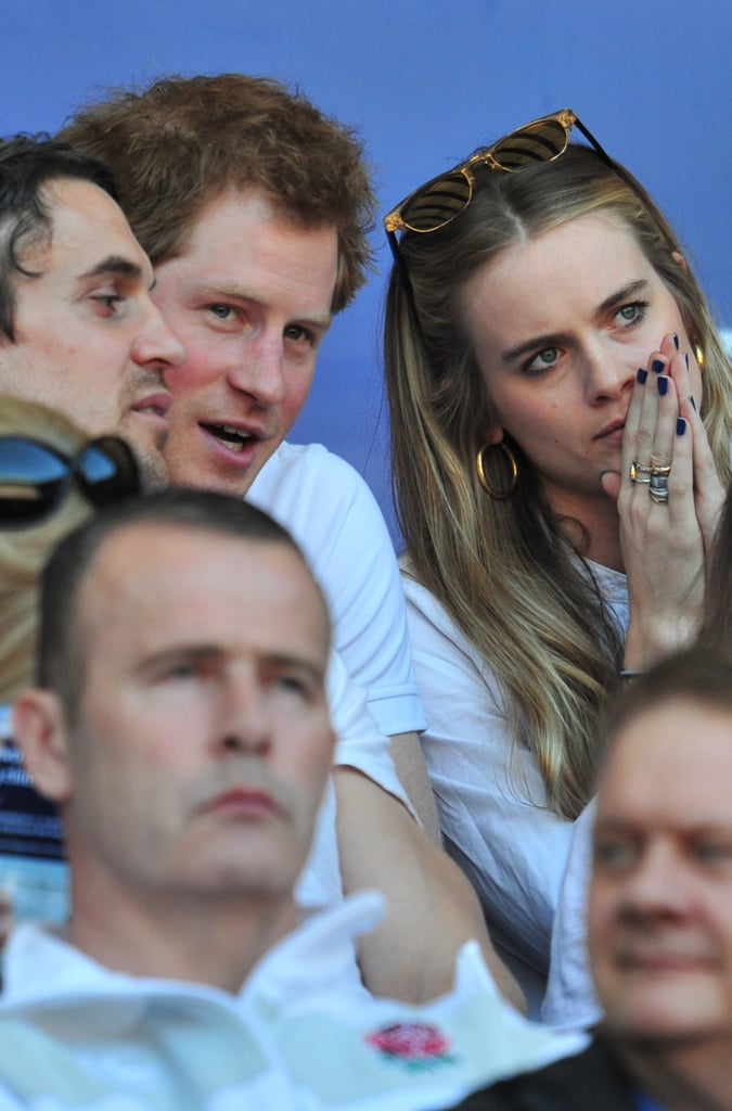 3: The number of serious girlfriends he's had. There was Laura Gerard-Leigh in 2003, Chelsy Davy from 2004 to 2011 and Cressida Bonas from 2012 to 2014.  14: The number of countries he has visited in an official capacity. Including Belize, Botswana, Estonia and New Zealand. He will be adding Nepal to his list in the spring.  12: The age he was when he was photographed driving a car on the Balmoral estate.  20: The number of weeks he served in Afghanistan as an Apache pilot in 2012 to 2013.
