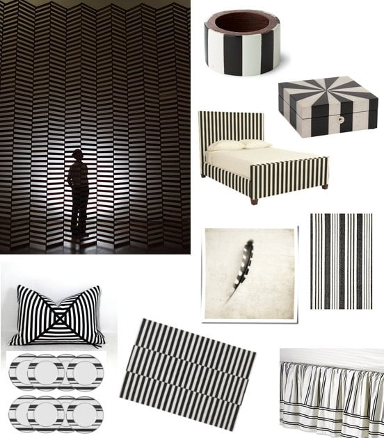 Black And White Striped Home Decor Shopping Popsugar Home Middle East