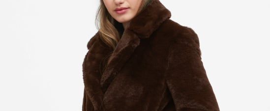 The Best Faux Fur at Banana Republic
