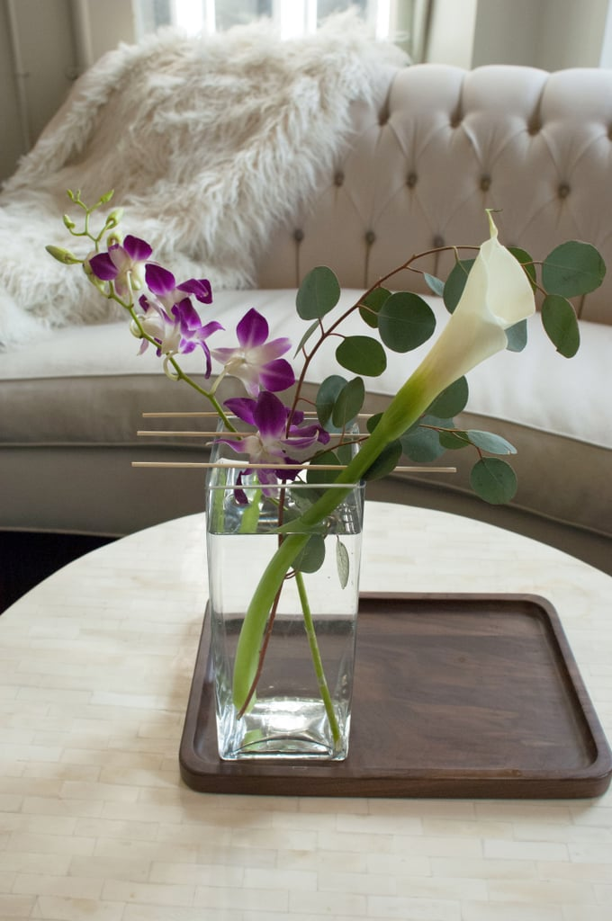 Incorporate Fresh Flowers
