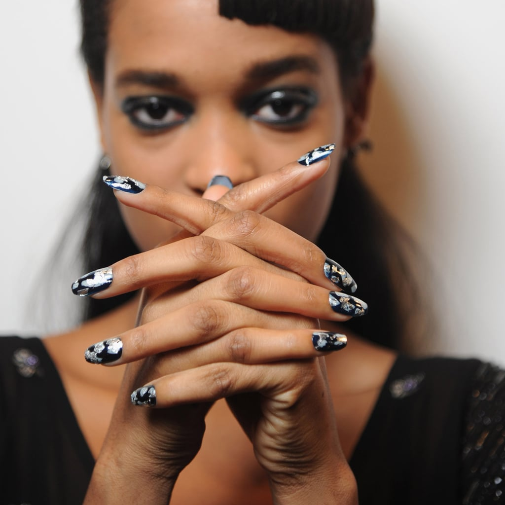 Gel Nail Polish Trends: London Fashion Week Fall 2013