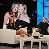 Jennifer Aniston Is Making Studded Sandals a Thing on Ellen