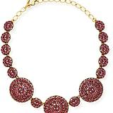 Oscar de la Renta Crystal Disc Statement Necklace ($745)