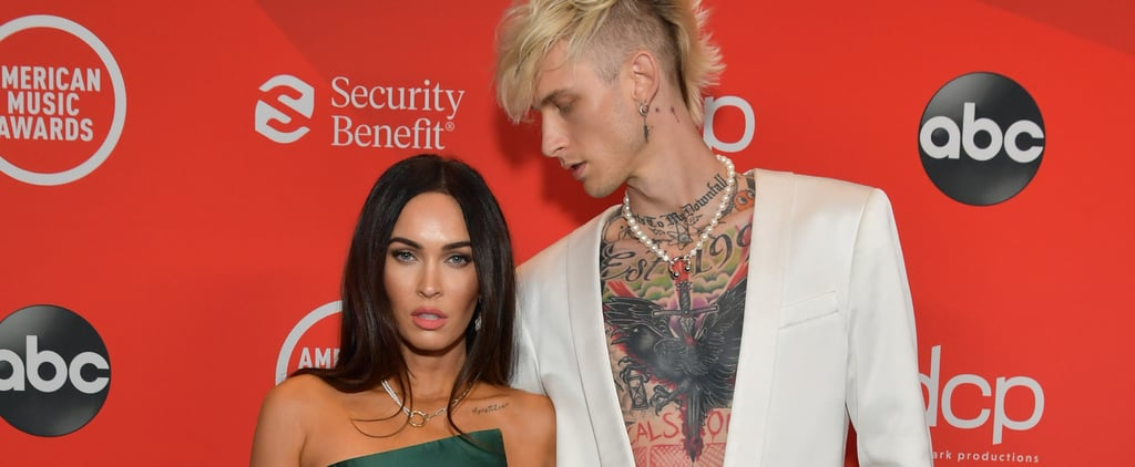 Megan Fox and Machine Gun Kelly at the American Music Awards