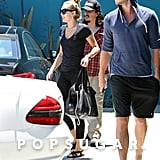 Miley Cyrus and Liam Hemsworth Stick Together on the West Coast