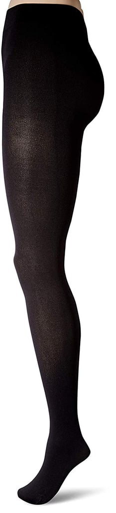 Hanes Plus Size Curves Blackout Tights
