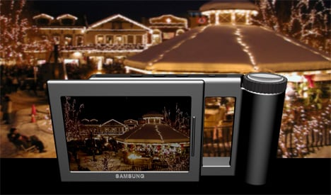 Camera That Morphs Into Picture Frame