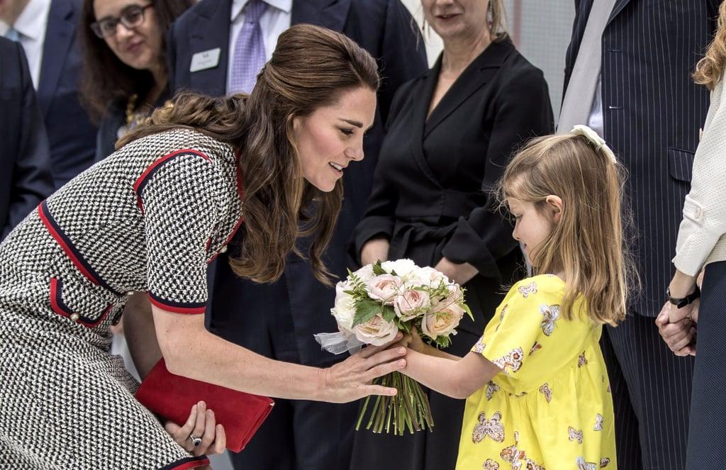 The Duchess of Cambridge Victoria and Albert June 2017