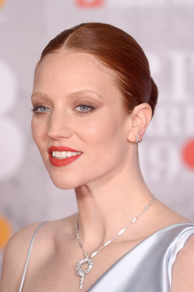 """Everything about Jess Glynne is powerful — from her voice to her thoughtful songwriting reaching fans across the globe — and just when we thought she couldn't be more impactful, she put on an emotional performance at the Brit Awards. On stage, she was among a row of women with ring lights and cameras positioned inches in front of their faces. As she sang the lyrics to her song """"Thursday,"""" she stripped off her makeup with a Face Halo (£18). She sang, """"I won't wear makeup on Thursday, I'm sick of covering up"""" (to which we say, SAME).  See snippets of the performance ahead, and prepare yourself for the chills that are about to run through your body."""