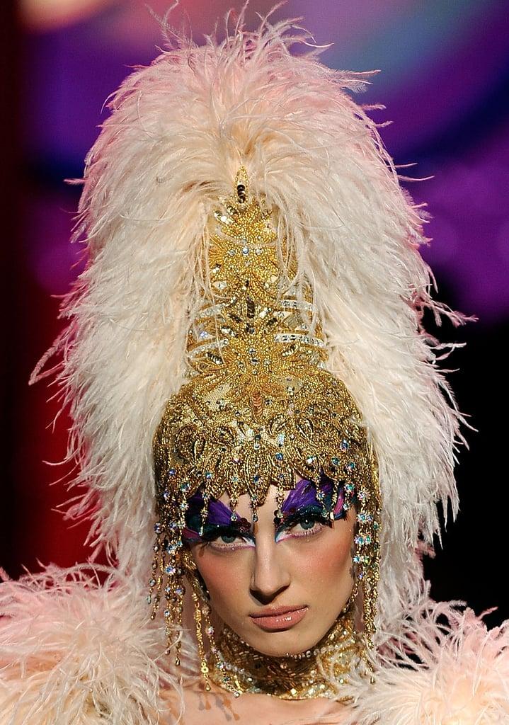 A High Headdress
