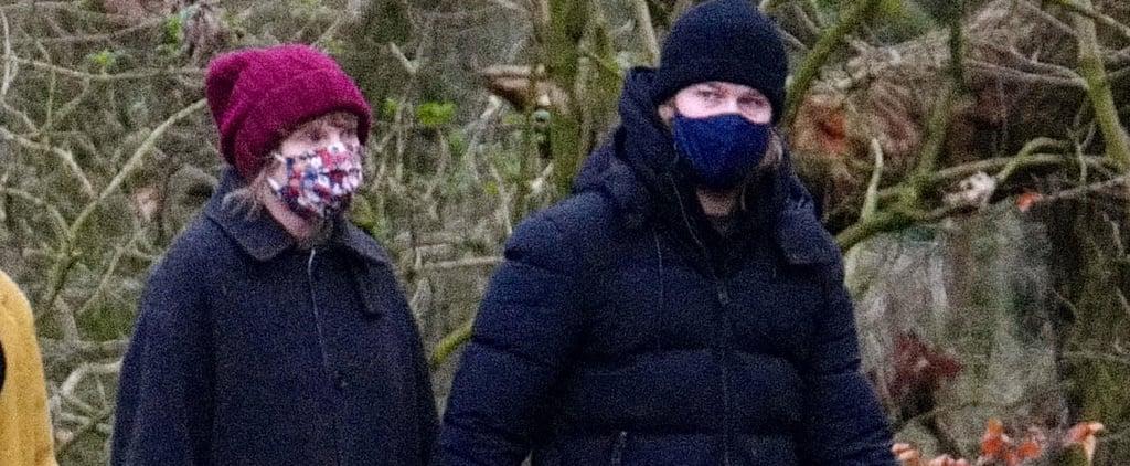 Taylor Swift and Joe Alwyn Wear Hunter Boots in London