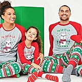 Matching Family Christmas Lama Pajamas