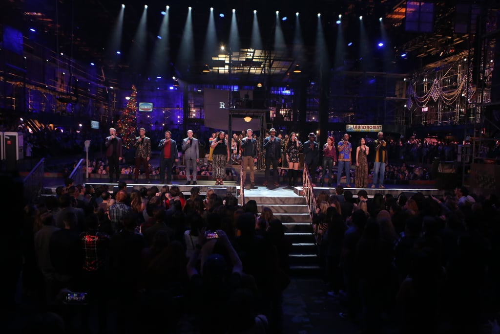 "Fox's Rent Live may have been a bumpy ride, but it was all worth it for the very last performance. The show's original Broadway stars, including Idina Menzel, Anthony Rapp, and Jesse L. Martin, reunited to sing ""Seasons of Love."" As if it wasn't emotional enough watching the cast stand in that iconic line, they eventually joined their Rent Live counterparts to sing the number alongside them. Vanessa Hudgens (who played Maureen) was spotted sharing a sweet embrace with Menzel, while Brandon Victor Dixon (who played Tom) and Martin put their incredible voices on display. Get a glimpse of the performance ahead!       Related:                                                                                                           See the Rent Live Cast Side by Side With the Film's Cast"