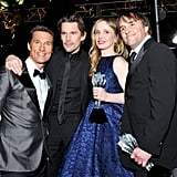 Matthew McConaughey got together with Ethan Hawke, Julie Delpy, and Richard Linklater.